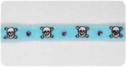 Tiffi Blue Skull Collars