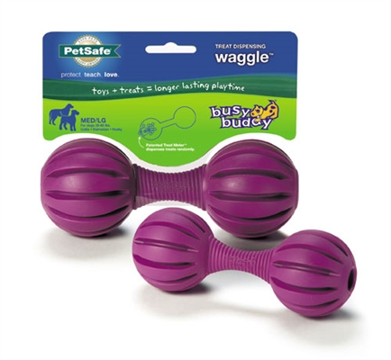 Busy Buddy® Waggle™ Treat Dispensing Rubber Chew Toy