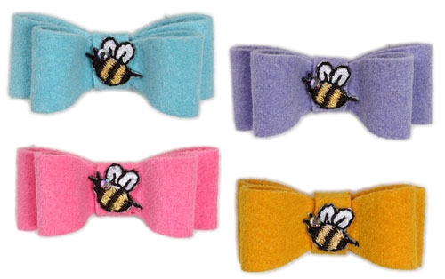 Bee Hair Bows