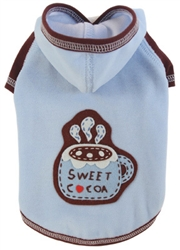 Sweet Cocoa Hoodie by Ruff Ruff Couture®
