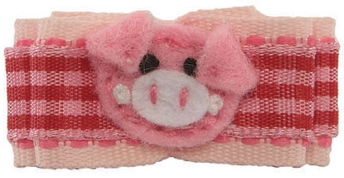 Little Piggie Barrette by Ruff Ruff Couture®