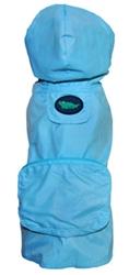Blue Alligator Pocket Fold Up Raincoat