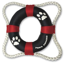 Paws Aboard Life Ring Toy -