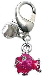 Lulu Pink Fish Charm