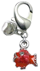 Lulu Red Fish Charm