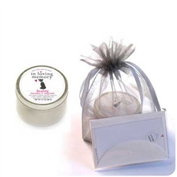 Dog Lovers Memorial Candle Kit