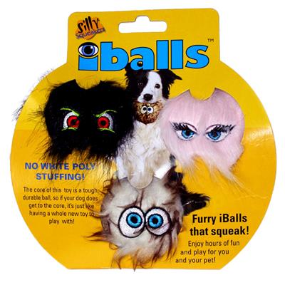 Silly Squeakers® iBalls™: Small Tri-Pack