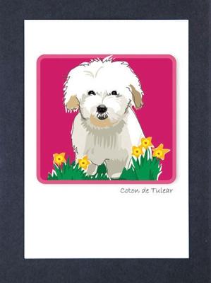 Coton de Tulear - Grrreen Boxed Note Cards
