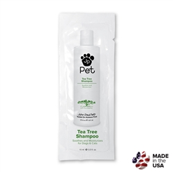 Tea Tree Shampoo- Foil Pack - 0.5 oz.