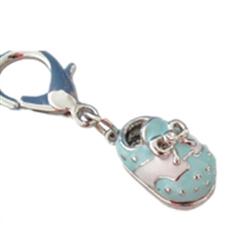 Blue Shoe Charm