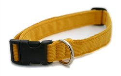 Marigold Hemp Corduroy Collars, Leashes, and Harnesses