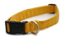 Marigold Hemp Corduroy Collars, Leashes, and Harnesses