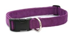 Plum Hemp Corduroy  Collars , Leashes, and Harnesses