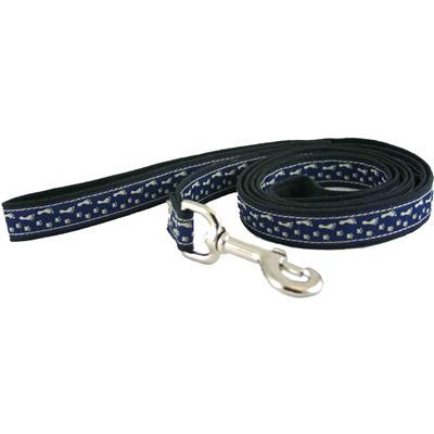 Hemp Dog Collar BFF Blue Canvas