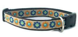 Hemp Canvas World Peace Collars and Leashes