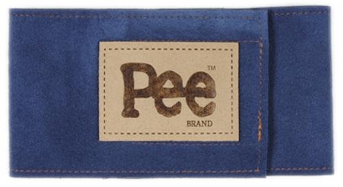 Pee Brand - Ultrasuede® Wizzer Bellybands Baltic Blue
