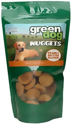 Green Pet Nuggets™ - Peanut Butter (10.5 oz)