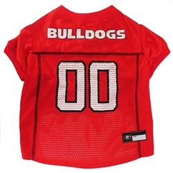 Georgia Bulldogs Dog Jersey