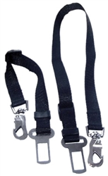 Pet Auto Safety Restraint Strap - 3 colors | BLACK, PINK or LT BLUE