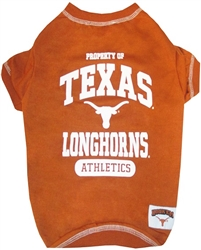 Texas Longhorns Dog Tee Shirts