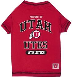University of Utah Dog Tee Shirt