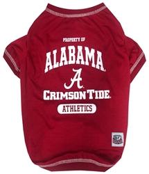 Alabama Crimson Tide Dog Tee Shirt