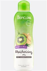 TropiClean Moisturizing Kiwi and Cocoa Butter Conditioner 20 Oz. Bottle