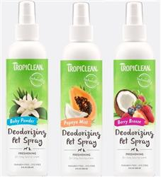 Tropiclean Deodorizing Pet Spray 8oz.
