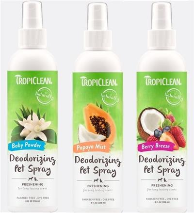 Tropiclean Deodorizing Pet Spray 8oz.