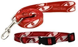 Oklahoma Sooners Dog Collars & Leashes
