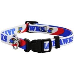 Kansas Jayhawks Dog Collars & Leashes
