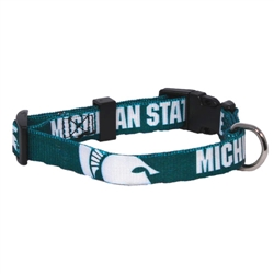 Michigan State Spartans Dog Collars & Leashes
