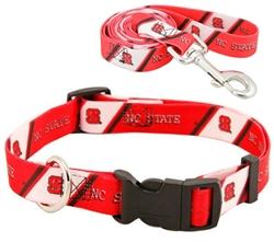 North Carolina State Wolfpack Dog Collar