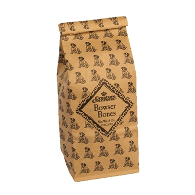 Bowser Bones™ in 1/2 lbs. Kraft Bag