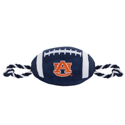 Auburn Tigers Nylon Football Dog Toy