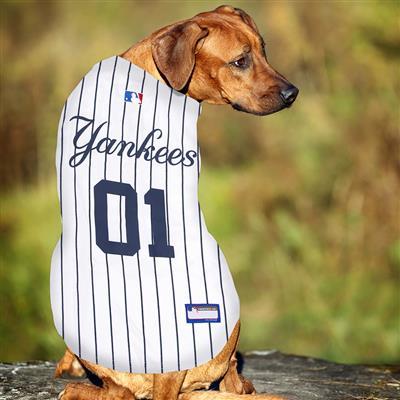 New York Yankees Dog Jersey - Pinstripe