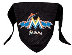 Miami Marlins Mesh Dog Bandana