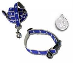 Los Angeles Dodgers Dog Collars & Leashes - Premium **2 LG collars left***