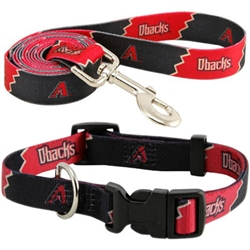 Arizona Diamondbacks Dog Collars & Leashes