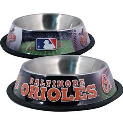 Baltimore Orioles Dog Bowl