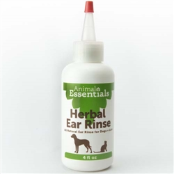 Herbal Ear Rinse - 4 fl oz. squeeze bottle with spot tip