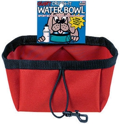 Pack My Kibble Bowl - Assorted Colors