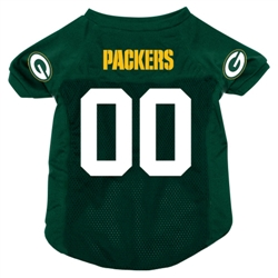 NFL Green Bay Packers Dog Jersey - SALE