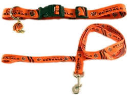 NFL Cincinnati Bengals Dog Collar