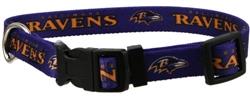 NFL Baltimore Ravens Dog Collar