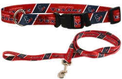 NFL Houston Texans Dog Collar