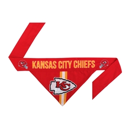 NFL Kansas City Chiefs Dog Bandana