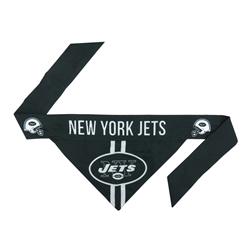 NFL New York Jets Dog Bandana - Tie On