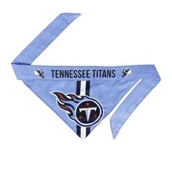 NFL Tennessee Titans Dog Bandana - Tie On