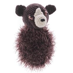Bear - Bubble Body andmade Plush Dog Toy - Squeaker dog toy, Squeaky dog toy, knitted toy, Gift for dogs